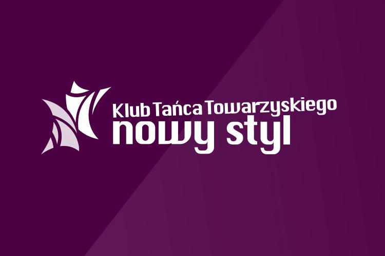 logo klub tańca towarzyskiego nowy styl